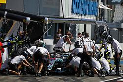 July 20, 2018 - Hockenheim, Germany - Motorsports: FIA Formula One World Championship 2018, Grand Prix of Germany, ..#44 Lewis Hamilton (GBR, Mercedes AMG Petronas Motorsport) (Credit Image: © Hoch Zwei via ZUMA Wire)