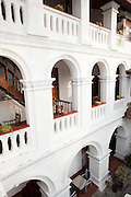 A hotel and restaurant in Cochin, Kerala, India