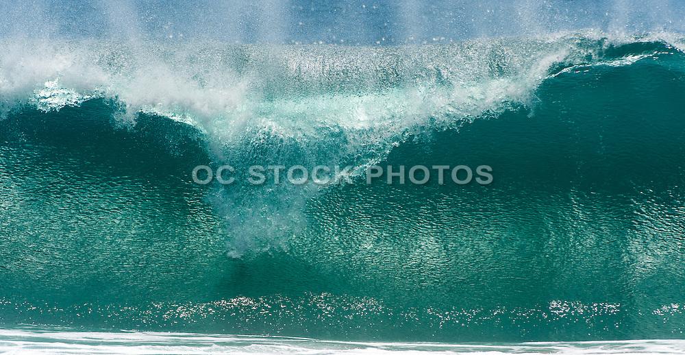 Ocean Wave at the Wedge in Newport Beach California