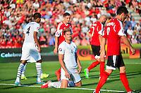 Deception Olivier GIROUD - 13.06.2015 - Albanie / France - Match Amical - Tirana<br />Photo : Dave Winter / Icon Sport