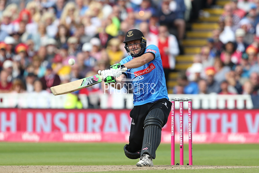 Sussex's Luke wright during the Vitality T20 Finals Day semi final 2018 match between Sussex Sharks and Somerset at Edgbaston, Birmingham, United Kingdom on 15 September 2018.
