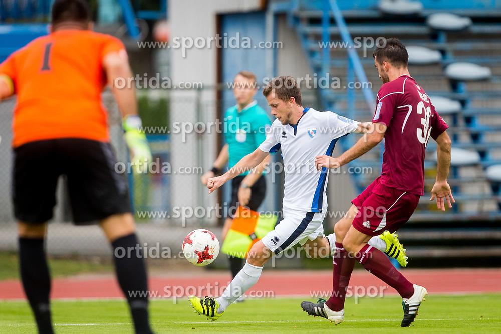 during football match between NK Triglav Kranj and ND Gorica in 6th Round of Prva liga Telekom Slovenije 2017/18, on August 19, 2017 in Sports park Kranj, Kranj. Photo by Ziga Zupan / Sportida
