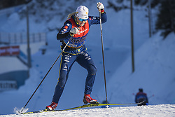 March 2, 2018 - Lahti, Finland - JONNA SUNDLING of Sweden during a training session ahead of the FIS Cross-Country World Cup in Lahti. (Credit Image: © Fredrik Varfjell/Bildbyran via ZUMA Press)