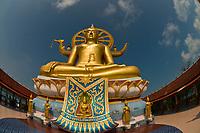 Big Buddha, Phra Yai Temple, Koh Samui (island), Gulf of Thailand, Thailand