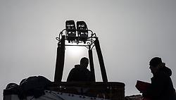 11.02.2015, Zell am See - Kaprun, AUT, BalloonAlps, im Bild Brenner eines Ballonkorbes // BalloonAlps, The Alps Crossing Event balloonalps is Austria's international Winter balloon week in front of the backdrop of the Hohe Tauern, Zell am See Kaprun on 2015/02/11, . EXPA Pictures © 2014, PhotoCredit: EXPA/ JFK