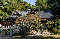 Okuboji is the 88th temple on the pilgrimage route of the 88 Shikoku Holy Places and the last temple of the 88. It is dedicated to getting rid of bad luck, and to grant your wishes. It is called the 'Temple of Wish Fulfillment'. Next to the cave is a spring where pristine water bubbles. As this is the last sacred spot along the pilgrimage, many people leave their pilgrim staffs here once they have completed their journey, and dedicate their staffs to all pilgrims who have completed the route.  Although Okuboji is the 88th and final stop, most pilgrims feel that the entire journey has not yet been completed until they pass by temple number one, then onto Koyasan afterwards.