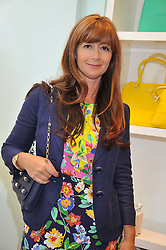 DEBORAH LLOYD at the Kate Spade NY hosted Chelsea Flower Show Tea Party held at Kate Spade, 2 Symons Street, London on 23rd May 2013.