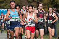New York, New York  - Runners compete in the Ivy League Heptagonal men's<br /> cross country championship meet at Van Cortlandt Park in the Bronx on Oct. 26,