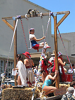 Mendocino Village fourth of july parade