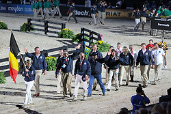 Openingceremony: Team Belgium<br /> World Equestrian Games Lexington - Kentucky 2010<br /> © Dirk Caremans