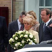 Begrafenis Bart de Graaff, tante