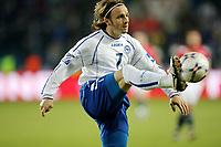 Fotball , 24 . mars 2007 , EM-kvalifisering , Gruppe C , Norge - Bosnia Herzegovina 1-2<br /> Vedin Music , Bosnia<br /> <br /> Norway