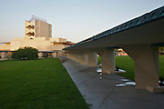 Designed by architect Frank Lloyd Wright, the Annie Pfeiffer Chapel, is the Hallmark of the Wright buildings on the campus of Florida Southern College in Lakeland, Florida. The building like many on campus was build with Student labor from 1939 to 1941.
