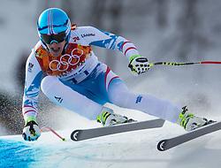 09-02-2014 SKIEN: OLYMPIC GAMES: SOTSJI<br /> Gold Matthias Mayer of Austria during the mens downhill to the Olympic Winter Games Sochi 2014 at the Rosa Khutor Alpine Resort <br /> ©2014-FotoHoogendoorn.nl