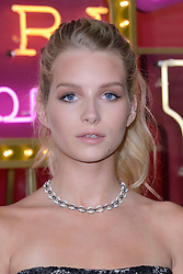 Lottie Moss attending a ribbon cutting ceremony of a Bulgari pop-up store at the Galleries Lafayette department store as part of 2017/18 Fall Winter Haute Couture Fashionweek in Paris, France on July 04, 2017. Photo by Aurore Marechal/ABACAPRESS.COM