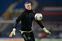 Football - 2020 / 2021 League Cup - Quarter-Finbal - Everton vs Manchester United - Goodison Park<br /> <br /> <br /> Everton Jordan Pickford <br /> <br /> COLORSPORT/TERRY DONNELLY