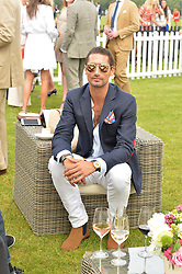 HUGO TAYLOR at the Cartier Queen's Cup Final 2016 held at Guards Polo Club, Smiths Lawn, Windsor Great Park, Egham, Surrey on 11th June 2016.