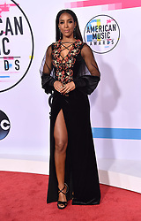 November 19, 2017 - Los Angeles, California, U.S. - Kelly Rowland arrives for the 2017 American Music Awards at the Microsoft Theatre. (Credit Image: © Lisa O'Connor via ZUMA Wire)