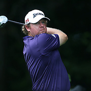 William McGirt, USA, in action during the first round of the Travelers Championship at the TPC River Highlands, Cromwell, Connecticut, USA. 19th June 2014. Photo Tim Clayton