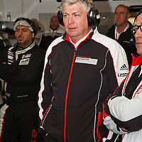 Wolfgang Hatz, Head of Research and Development at Porsche AG, Sunday morning 23 June 2013 (Le Mans 24H)