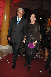 DR & MRS GERT-RUDOLPH FLICK  at a party to celebrate the launch of the 'Inde Mysterieuse' jewellery collection held at Lancaster House, London SW1 on 19th September 2007.<br /><br />NON EXCLUSIVE - WORLD RIGHTS