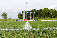 Side view of the ground and flags during the UEFA European Under 17 Championship 2018 match between Bosnia and Republic of Ireland at Stadion Bilino Polje, Zenica, Bosnia and Herzegovina on 11 May 2018. Picture by Mick Haynes.