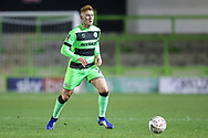Forest Green Rovers Matthew Worthington(21) during the The FA Cup 1st round replay match between Forest Green Rovers and Oxford United at the New Lawn, Forest Green, United Kingdom on 20 November 2018.