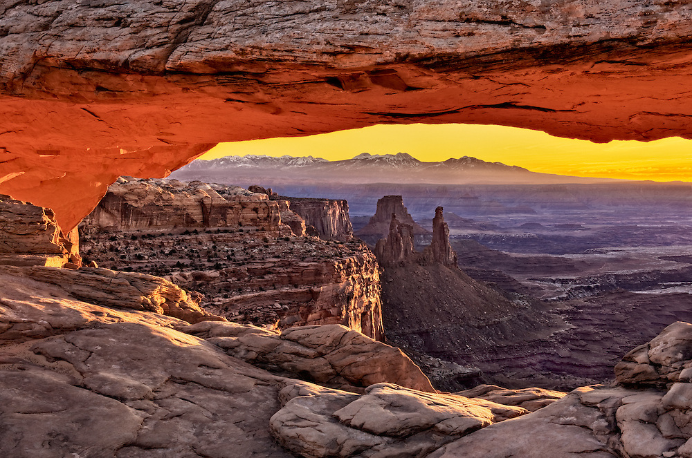 Mesa Arch at Sunrise - Canyonlands National Park, UT