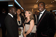 DAVID ADJAYE; ASHLEY SHAW-SCOTT; NICOLA GREEN; DAVID LAMMY, The Neo Romantic Art Gala in aid of the NSPCC. Masterpiece. Chelsea. London.  30 June 2015
