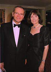 LORD & LADY ARCHER  at a ball in London on December 18th 1997.MEI 21