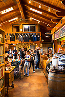 Yachats Brewing and Farmstore in Yachats,, Oregon.