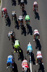 Peloton during 4th Stage Brezice - Novo Mesto (155,8 km) at 20th Tour de Slovenie 2013, on June 16, 2013, Slovenia. (Photo by Urban Urbanc / Sportida.com)