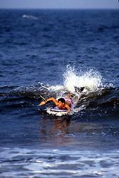 D. Ross Cameron 9/86<br /> <br /> Surfer, Rehoboth Beach, Del.