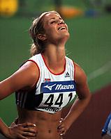 Friidrett<br /> Junior-VM 2006<br /> Beijing Kina<br /> 18.08.2006<br /> Foto: Hasse Sjögren, Digitalsport<br /> NORWAY ONLY<br /> <br /> Christina Vukicevic - sølv 100 meter hekk