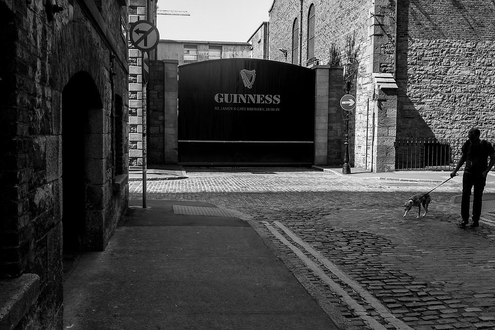 Guinness brewery, Dublin, Ireland.