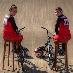 02-06-2021: BMX: Zusjes Smulders: Wijchen<br />De BMX zussen Laura en Merel Smulders (Wijchen) mogen Nederland vertegenwoordigen op de Olympsiche Spelen in Tokio