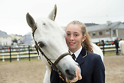 17/08/2017 Maria Gorham from Clifden with Gentle Meg at the Connemara Pony Show in Clifden. Photo:Andrew Downes, xposure