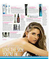 Tips on how to get gorgeous, glowing skin in the September issue of Saturday | Daily Express magazine in the UK.  <br /> <br /> Image from our shoot 'le frizz', available for worldwide use with approval: http://www.apixsyndication.com/gallery/le-frizz/G0000oGBnC_bIOfA/C0000y_zrDMuV36I