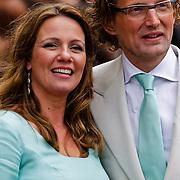 NLD/Middelburg/20100430 -  Koninginnedag 2010, Annet Sekreve en partner Bernhard Jr.