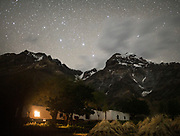 Night shot. In Roshorv village.