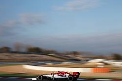 February 19, 2019 - Barcelona, Catalonia, Spain - the Alfa Romeo of Antonio Giovinazzi during the Formula 1 test in Barcelona, on 19th February 2019, in Barcelona, Spain. (Credit Image: © Joan Valls/NurPhoto via ZUMA Press)