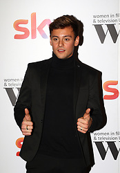 Tom Daley at the Women in Film & TV Awards at the Hilton hotel in central London.
