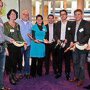 """NLD/Huizen/20110203 - Start actie """" Gooi in Beweging """" van de GGD en gemeente, stokje overgedragen aan gemeentelijke regisseur"""
