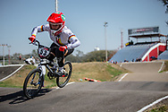 #53 (PRIES Nadja) GER  at Round 9 of the 2019 UCI BMX Supercross World Cup in Santiago del Estero, Argentina