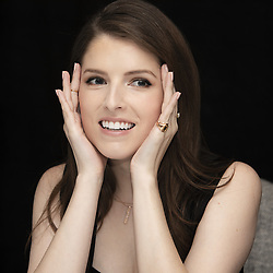August 20, 2018 - New York, New York, USA - Anna Kendrick stars in the movie A Simple Favor, (Credit Image: © Armando Gallo via ZUMA Studio)