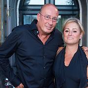 NLD/Amsterdam/20130903 - Inloop premiere Stiletto 2, Daniel Dekker en partner Carla Versloot