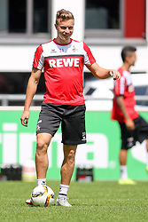 16.07.2015, Geissbockheim, Koeln, GER, 1. FBL, 1. FC Koeln, Training, im Bild Yannick Gerhardt (1. FC Koeln #31) // during a practice session of German Bundesliga Club 1. FC Cologne at the Geissbockheim in Koeln, Germany on 2015/07/16. EXPA Pictures © 2015, PhotoCredit: EXPA/ Eibner-Pressefoto/ Schueler<br /> <br /> *****ATTENTION - OUT of GER*****