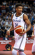 NANJING,CHINA:SEPTEMBER 5th 2019.FIBA World Cup Basketball 2019 Group phase match.Group F. New Zealand vs Greece. Small Forward Giannis ANTETOKOUNMPO of Greece.<br /> Photo by Jayne Russell / www.PhotoSport.nz