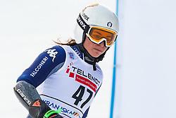 Luisa Matilde Maria Bertani (ITA) during Ladies' Giant Slalom at 57th Golden Fox event at Audi FIS Ski World Cup 2020/21, on January 17, 2021 in Podkoren, Kranjska Gora, Slovenia. Photo by Vid Ponikvar / Sportida
