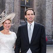 NLD/Den Haag/20180918 - Prinsjesdag 2018, Minister van Financien Wopke Hoekstra en partner